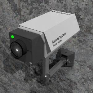 مدل سه بعدی آماده دوربین مدار بسته
