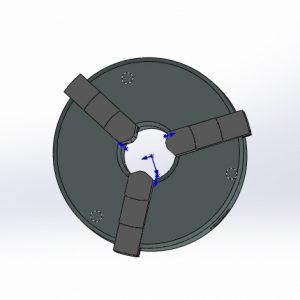 مدل آماده سالیدورکز سه نظام دستگاه تراش