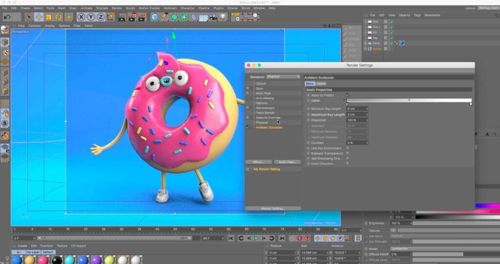Cinema 4D سینما فوردی نرم افزارهای ساخت انیمیشن