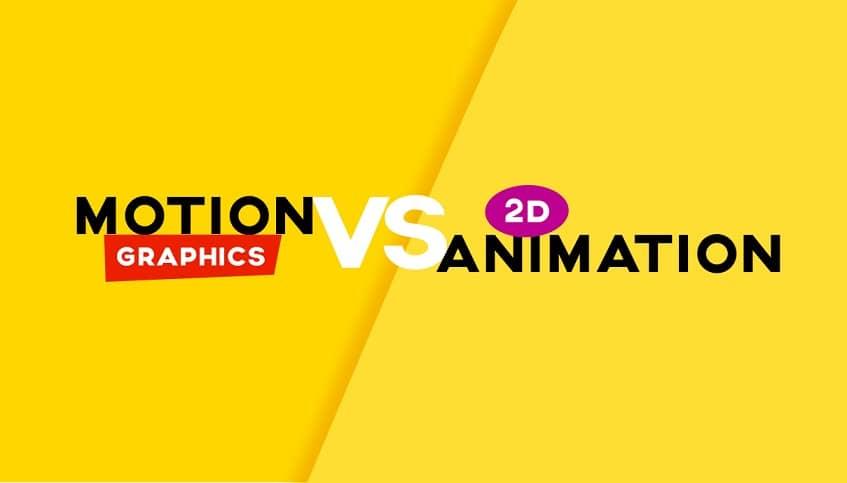 فرق موشن گرافیک با انیمیشن چیست؟