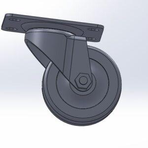دانلود پروژه آماده مدل سالید چرخ بیمارستان